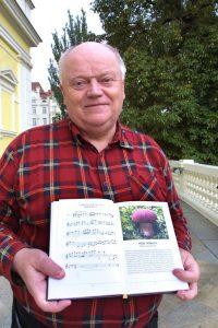 Hudební skladatel Václav Hálek, autor knihy Hudební atlas hub. Foto Martin Mráz / Mafra / Profimedia